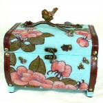 Cherry Blossoms Jewelry Box